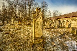 Okolica – Cmentarz żydowski