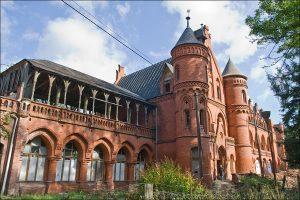 Zamek i cerkiew w Sokołowsku
