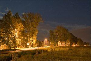 Oświetlenie w Czadrowie