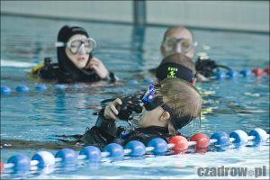 Nurkowanie na basenie