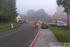 Remont drogi Czadrów – Krzeszów
