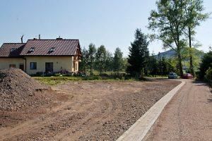 Remont drogi w Czadrowie