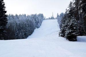 Wyciąg narciarski w Lubawce