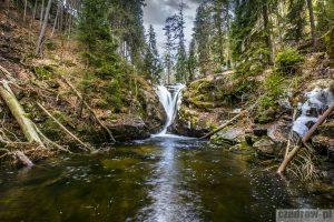 Okolica – Wodospad Szklarki