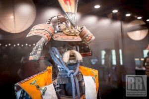 Inscenizowana walka samurajów i wikingów w Siruwia