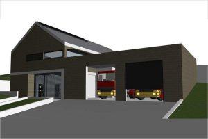Ogłoszono przetarg na budowę nowoczesnej remizy w Ptaszkowie