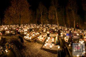Zamknięte cmentarze na Wszystkich Świętych