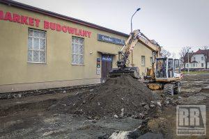 Trwa remont ulicy Jedwabnej w Kamiennej Górze