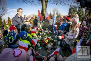 Uczcili 101. rocznicę odzyskania niepodległości przez Polskę