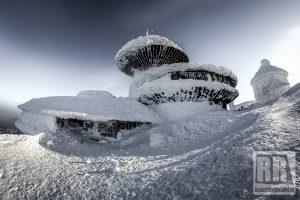 Na Śnieżce wiało 223 km/h