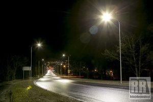 Ulica Wałbrzyska w Kamiennej Górze ponownie oświetlona
