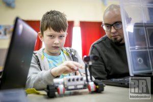 Marciszów zakończył ferie warsztatami z robotyki
