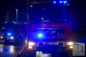Niespokojna noc dla mieszkańców, pracowita dla strażaków