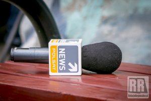 Polsat News na przejściu granicznym w Lubawce