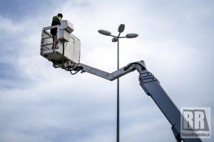 Trwa modernizacja oświetlenia w Kamiennej Górze