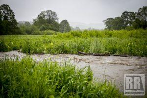 Ostrzeżenie hydrologiczne na górnym Bobrze