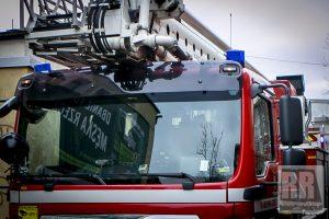 Wybuch piecyka gazowego w Lubawce