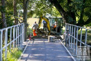 Trwa budowa ścieżki rowerowej