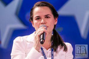 Swiatłana Cichanouska odebrała nagrodę specjalną Forum Ekonomicznego w Karpaczu