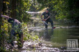 Trwają prace konserwacyjne rzeki Zadrna