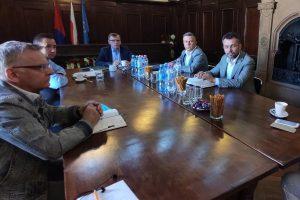 Spotkanie przedstawicieli samorządów Kotliny Kamiennogórskiej