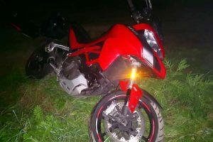 Skradziony motocykl Ducati Multistrada odnaleziony