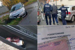 Kolejny pijany kierowca zatrzymany przez kamiennogórskich policjantów
