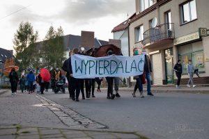 Protest w Kamiennej Górze