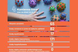 Informacja o sytuacji epidemiologicznej w Kamiennej Górze