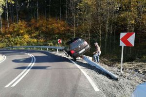 Nietypowe zdarzenie drogowe