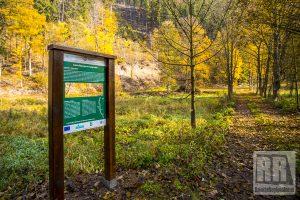 Ścieżka przyrodnicza w Kruczej Dolinie