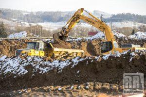 Informacja o pracach na terenie budowy drogi S3