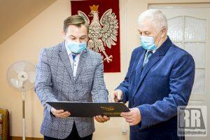 List gratulacyjny dla Sołtysa Roku 2020 Józefa Szołdrowskiego