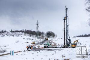 Relacja wideo z budowy drogi ekspresowej S3 na odcinku Kamienna Góra-Lubawka