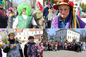 Mieszkańcy DPS Szarocin przywitali wiosnę