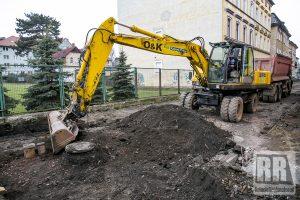 Trwa remont ulicy Sportowej w Kamiennej Górze
