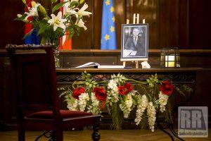 Księga kondolencyjna dedykowana pamięci Adama Blicharskiego
