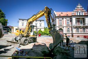 Przebudowa ulicy Papieża Jana Pawła II w Kamiennej Górze
