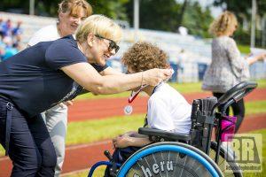 XX Mityng Lekkoatletyczny Olimpiad Specjalnych Kamienna Góra 2021 – wideo