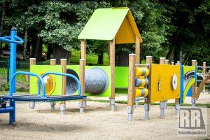 Zakończono modernizację placu zabaw w Kamiennej Górze