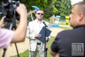 Briefing prasowy burmistrza Kamiennej Góry