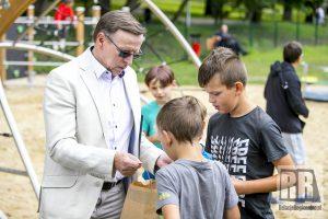Oficjalnie zainaugurowano działalność placu zabaw przy ul. Piastowskiej