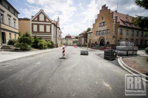 Trwa przebudowa ulicy Papieża Jana Pawła II w Kamiennej Górze