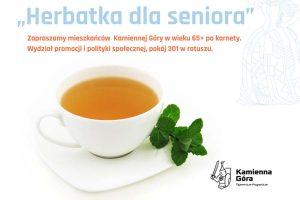 Zapraszamy seniorów na herbatę w kamiennogórskich lokalach