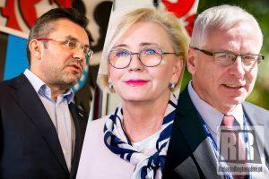 Spotkanie minister, wojewody i starosty w sprawie kamiennogórskiego szpitala