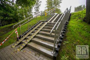Zakończono budowę schodów przy ul. Cichej w Kamiennej Górze