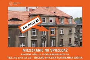 Lokal mieszkalny na sprzedaż