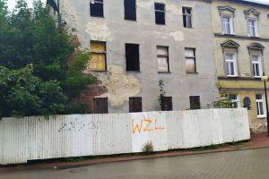 Mieszkańcy boją się lubawskiej ruiny