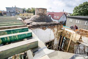Trwa remont kamiennogórskiego Domu Loży Masońskiej