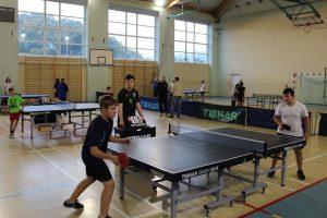 Zawody indywidualne w tenisie stołowym